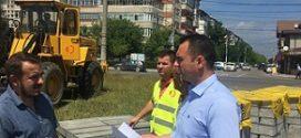 Dambovita: Primaria  Targoviste – Start al lucrarilor si pe strada Constantin Brancoveanu