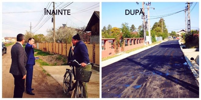 Targoviste: Asfaltarea a 4 km de drum in cartierul Priseaca spre finalizare