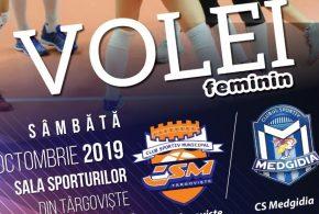 Targoviste: Capionatului National de Volei Divizia A1