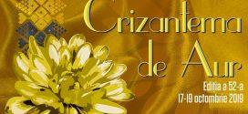 """Targoviste: Festivalul National de Interpretare si Creatie a Romantei """"Crizantema de Aur"""",  editia a 52-a"""