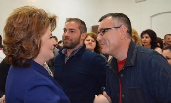 Rovana Plumb, candidat la alegerile europarlamentare si presedinte PSD Dambovita, a vizitat judetul Arges