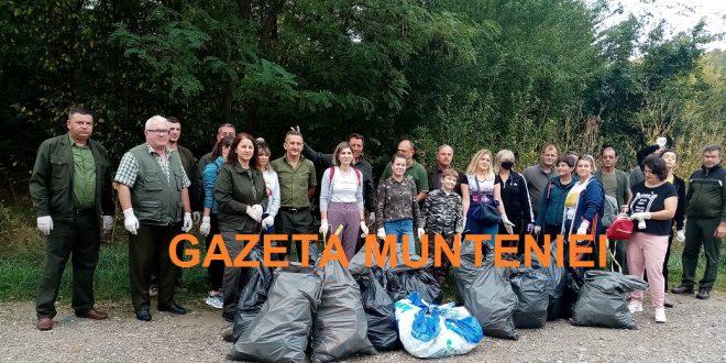 Dambovita: Peste 140  de voluntari s-au  alaturat angajatilor  de la Directia Silvica Judeteana  in actiunea din acest an dedicata campaniei intitulate Ziua Nationala a Curateniei